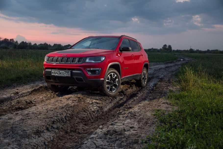 Тест драйв Jeep Compass  своим курсом