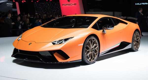 Lamborghini Huracan Performante хочет стать новым королем Нюрбургринга