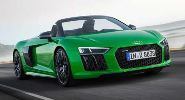 Audi R8 V10 Spyder появился в варианте Plus