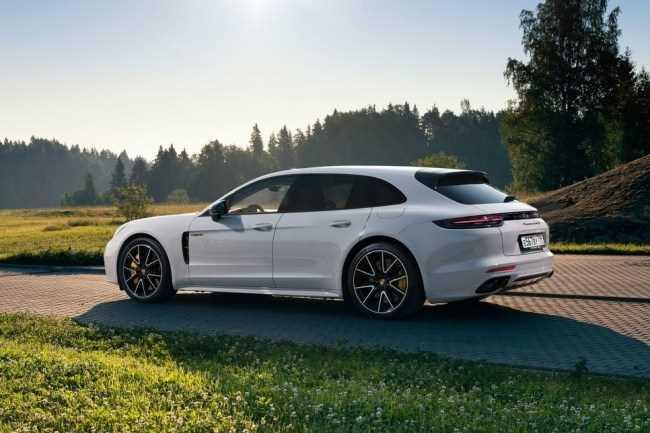 27528 Гибрид на максималках. Porsche Panamera Turbo E-Hybrid Sport Turismo