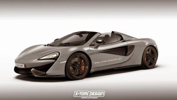 McLaren 570S Spider выйдет в этом году