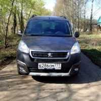 29978 Под французским каблуком. Peugeot Partner Tepee