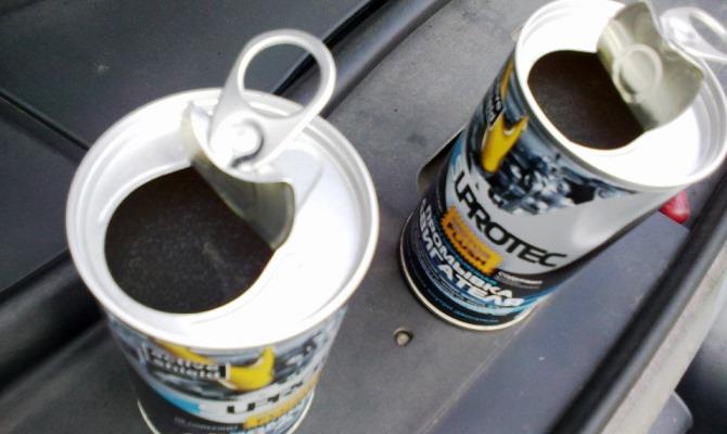 Самый распространенный метод промывки двигателя - промывочное маслоили присадки