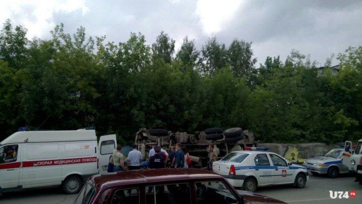 Проклятое место: в Златоусте «стена смерти» притягивает грузовики и автобусы