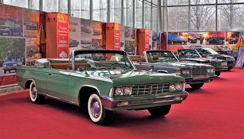 30898 Этими автомобилями мы можем гордиться: кабриолеты, открывавшие парады в СССР и в России
