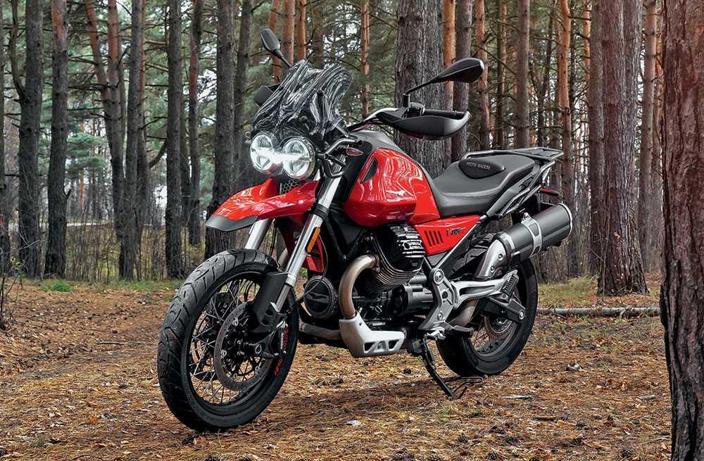 30736 Итальянский «кроссовер» за миллион рублей. Moto Guzzi V85 TT