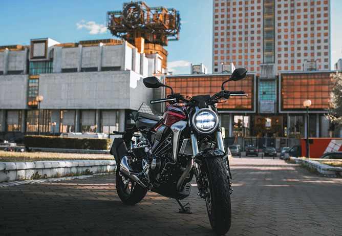 31257 Когда 300 «кубов» лучше литра. Тест Honda CB300R Neo Sports Caffe