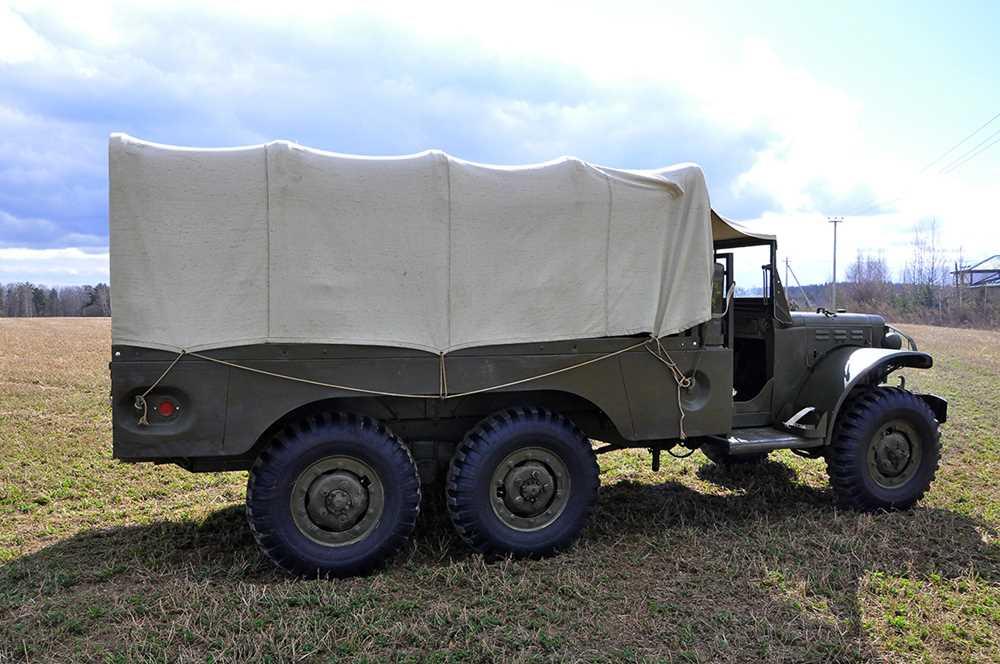 31015 Редкий армейский Dodge WC-62 «для дядюшки Джо», или за что мы должны были американцам 10 млрд долларов