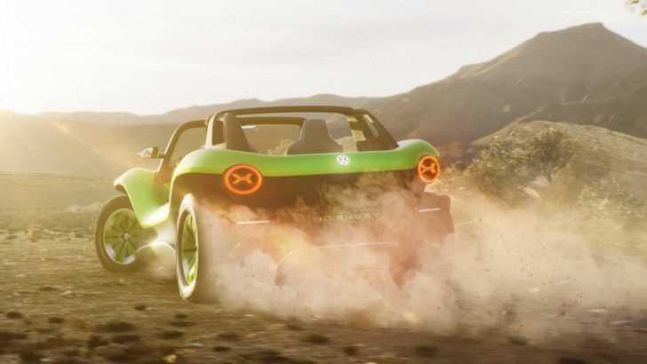 Volkswagen презентовала пляжный электробагги – ФОТО