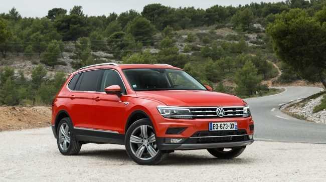 31295 Volkswagen Tiguan Allspace: нужно больше места. Volkswagen Tiguan Allspace