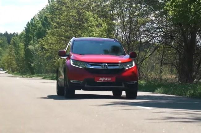32737 Honda CR-V Hybrid: в светлое будущее без коробки передач. Honda CR-V