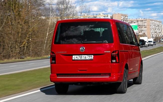31876 VW Caravelle - микроавтобус мечты. Volkswagen Caravelle