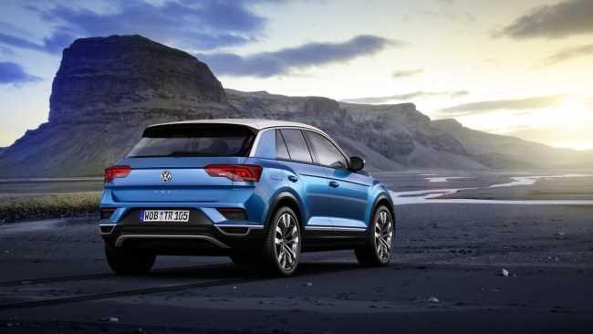 31479 VW T-Roc: самый непрактичный из практичных. Volkswagen T-Roc