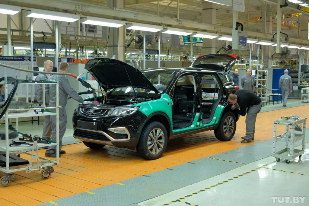Geely построит в Беларуси новый завод двигателей