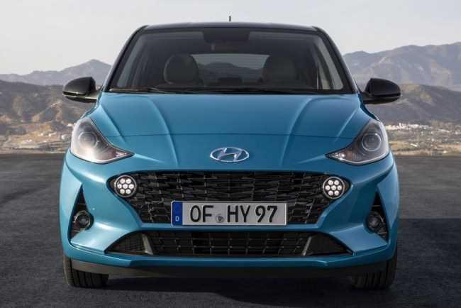 33523 Hyundai i10: обновление универсального недорогого хэтчбека. Hyundai i10