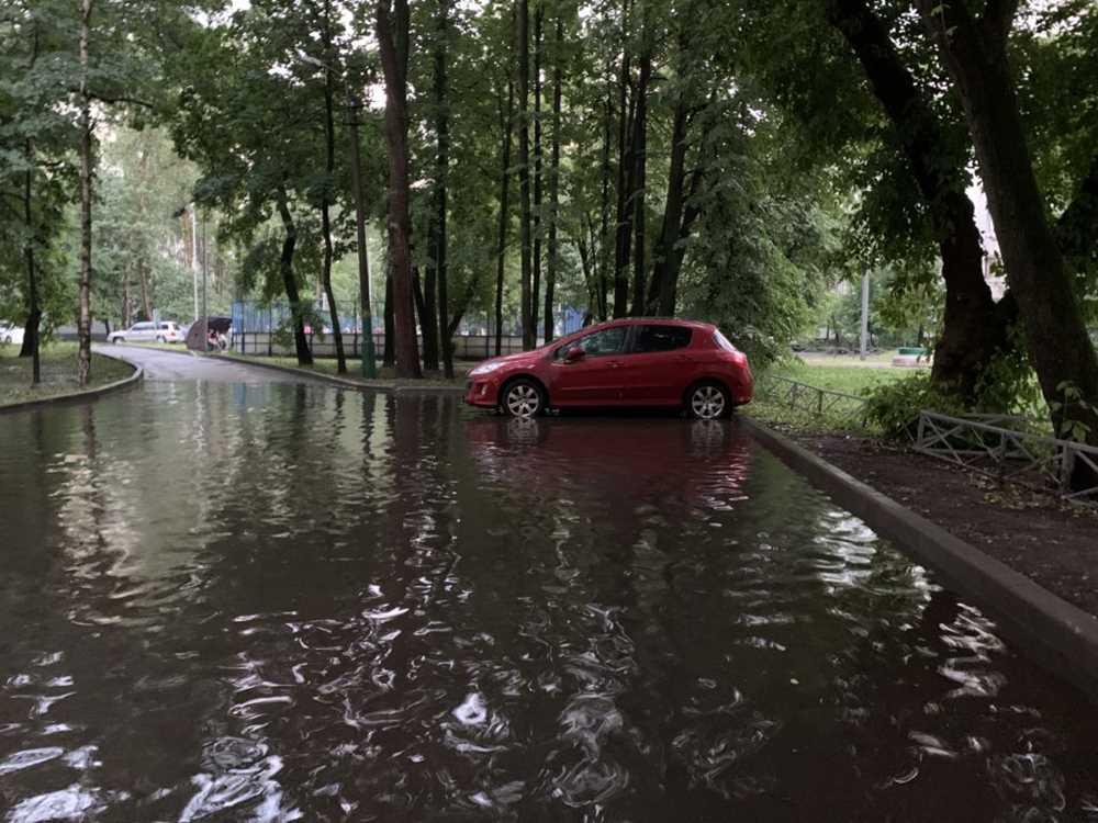 33531 Москвичи составили рейтинг самых затапливаемых улиц