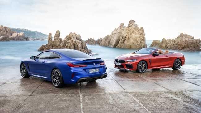 33020 От одного до восьми: BMW M8 Competition. BMW M8 Cabrio (F91)