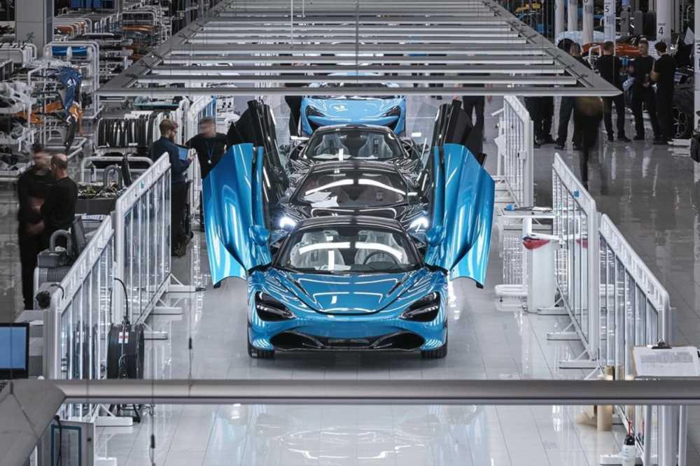 McLaren намерен отказаться от использования бензиновых двигателей
