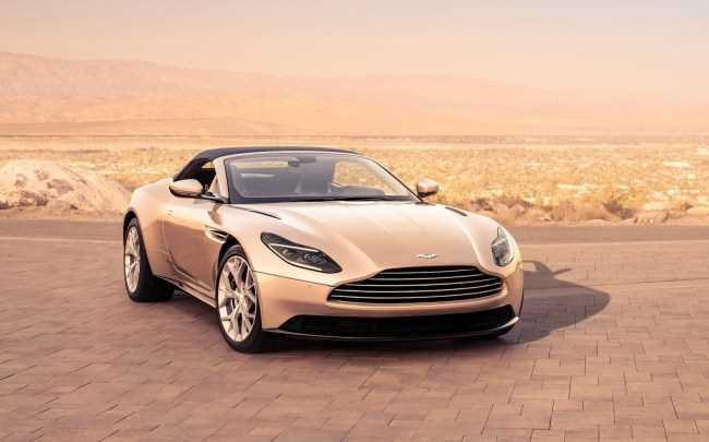33890 Aston Martin DB11 Volante: отличные повадки, но скучная мультимедийка. Aston Martin DB11 Volante