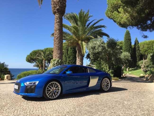 33921 Болид гражданской наружности: Audi R8. Audi R8 Coupe