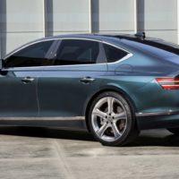 33813 Новый бизнес-седан Genesis G80 приедет в Россию без дизеля