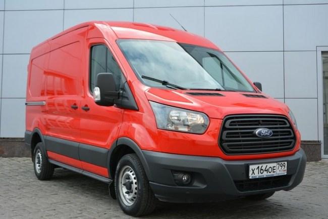 34400 Ford Transit: реальный фургон. Ford Transit