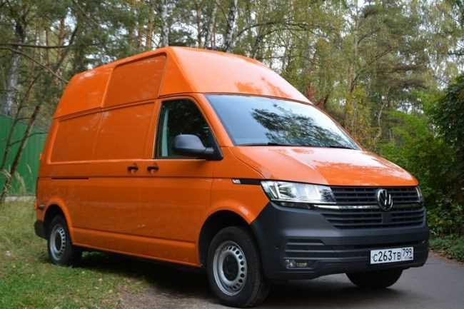 34389 Кубический «апельсин»: обновленный Volkswagen Transporter 6.1. Volkswagen Transporter Kasten