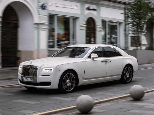 34079 Rolls-Royce Ghost - Антидепрессант. Rolls-Royce Ghost