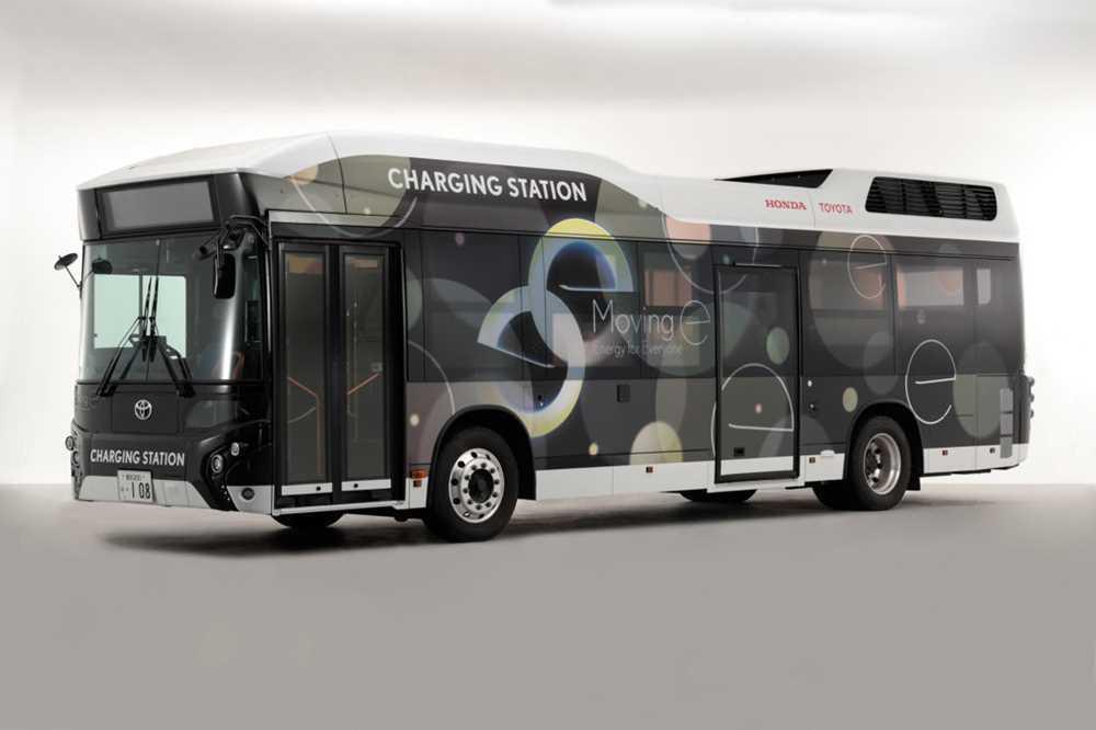 33980 Японцы сделали огромный передвижной аккумулятор на базе автобуса