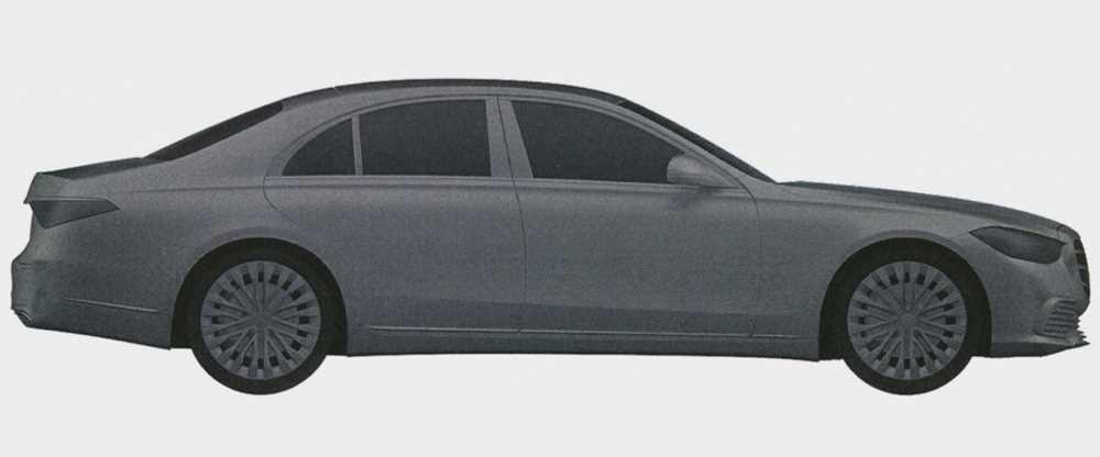 Mercedes-Benz запатентовал в России внешность нового E-Class