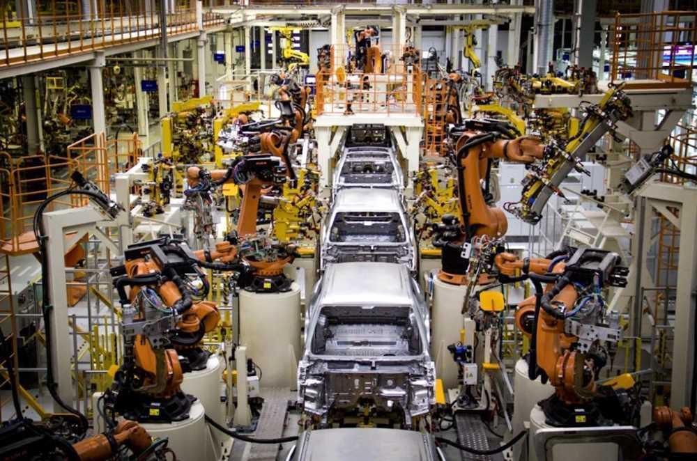 В России на четверть рухнуло производство автомобилей