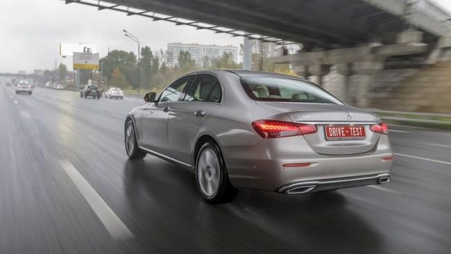 34785 Притормаживаем рандеву с обновлённым Мерседесом E 200. Mercedes E-Class (W213)