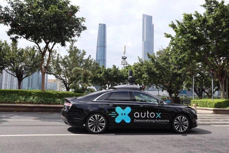 В Китае на городских дорогах появились беспилотники без водителей