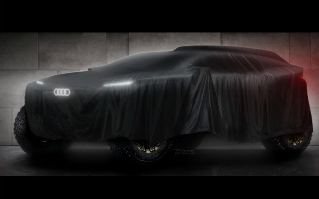 Audi примет участие в ралли-марафоне «Дакар 2022»