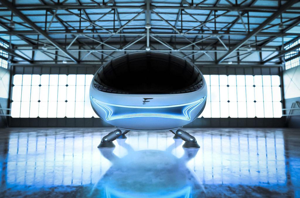 В Воронеже представили летающий автомобиль