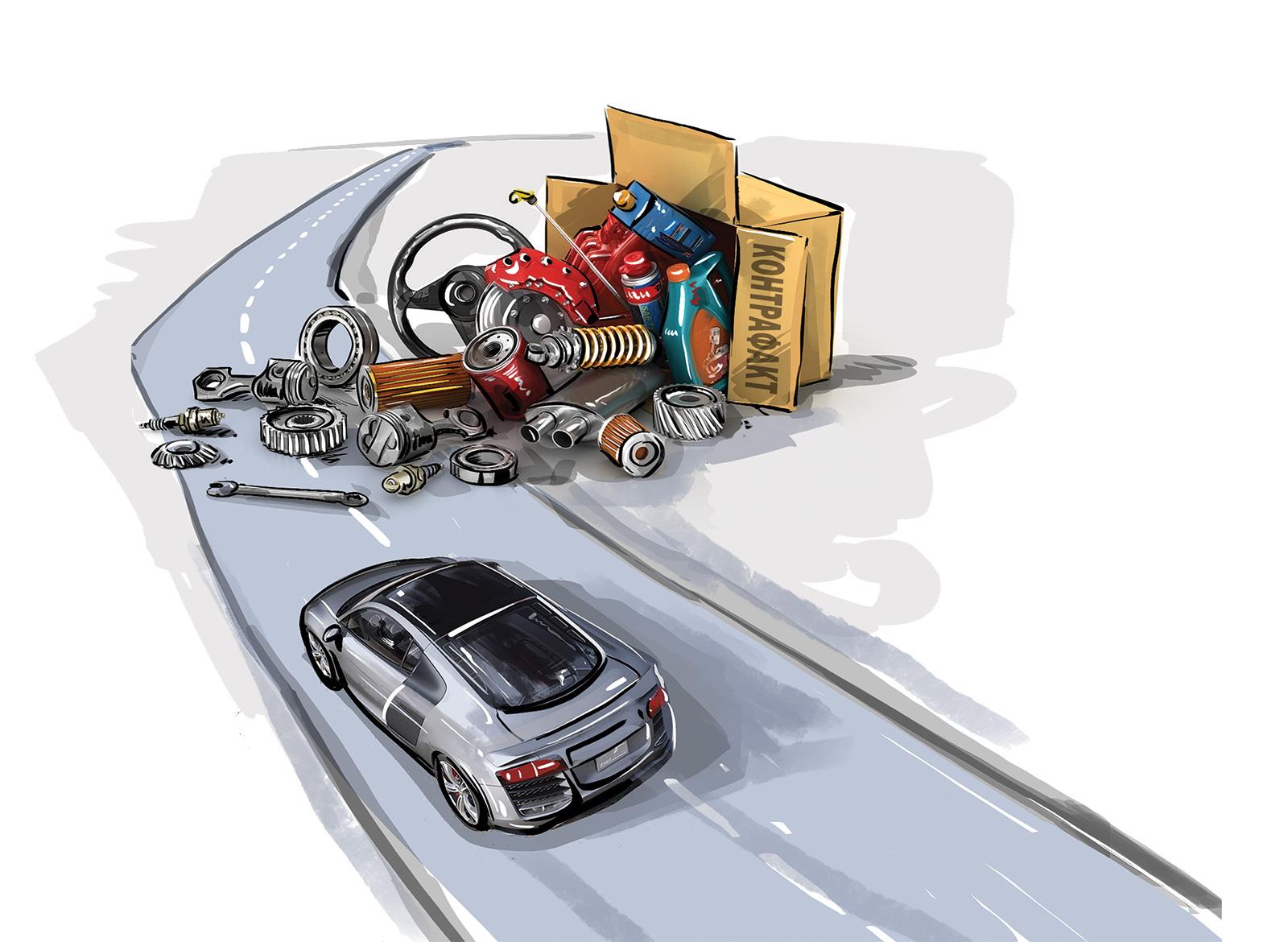 35294 Осторожно, контрафакт! Чем опасны поддельные автозапчасти и кто с ними должен бороться