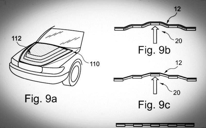BMW запатентовал трансформирующийся капот