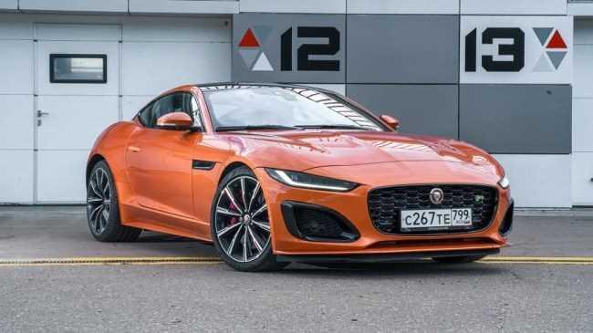 35416 Заводной апельсин: Jaguar F-Type R. Jaguar F-Type Coupe