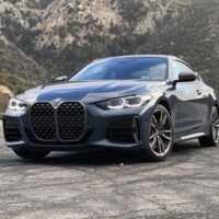 36398 Бабушка, почему у тебя такие ноздри? Тест новой «четверки» BMW. BMW 4 Series Coupe (G22)