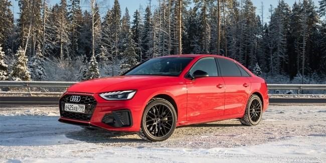 35815 Битва за свайп. Audi A4. Audi A4 (B9/8W)