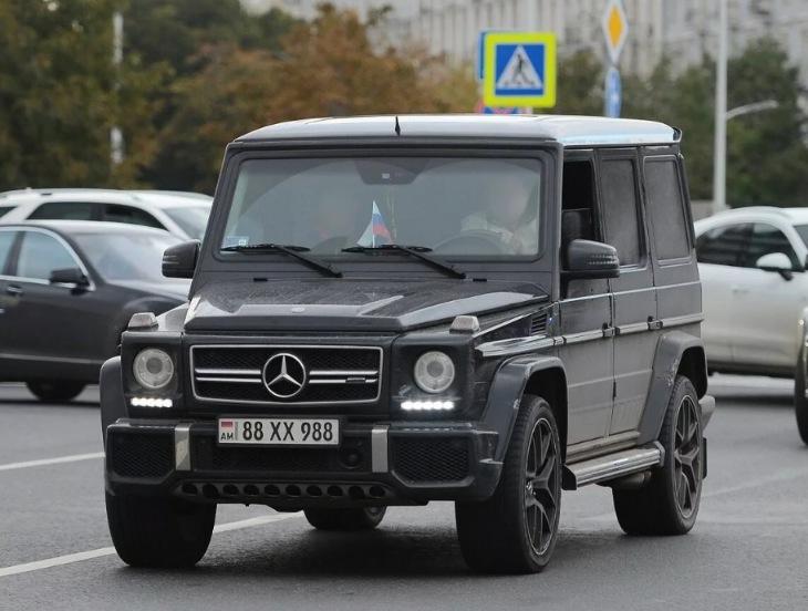 Госдума может амнистировать автомобили с армянским учетом