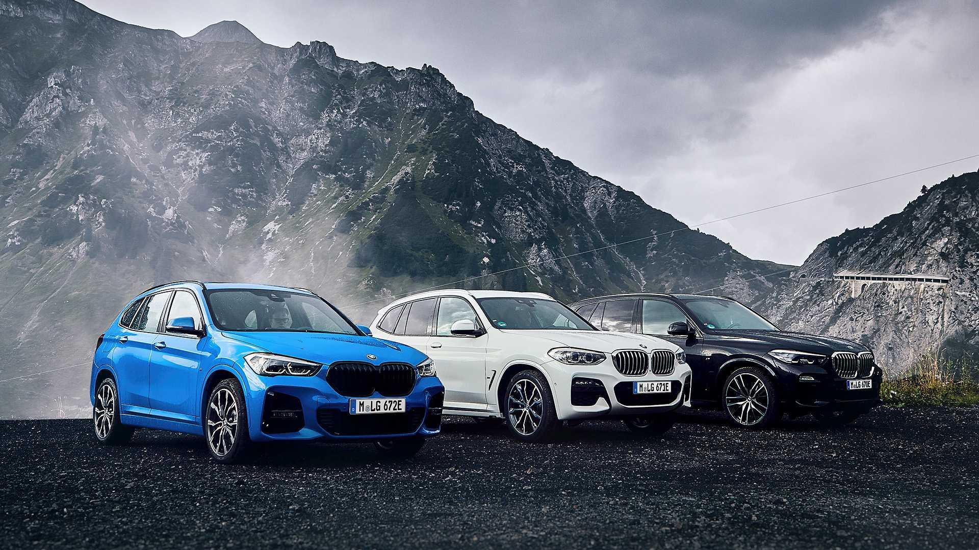 37406 BMW начнёт строить все свои авто на единой платформе