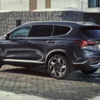 37065 Hyundai Santa Fe: он паркуется с кнопки! И детей баюкает!. Hyundai Santa Fe