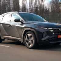 36955 Hyundai Tucson: порадует ли чем-то кроме дизайна?. Hyundai Tucson