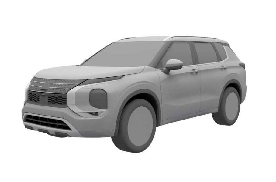 37407 Mitsubishi запатентовал внешность нового Outlander для России
