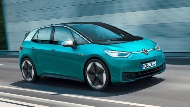 37297 Опоздавший, но крутой: первый тест электрохэтча Volkswagen ID.3. Volkswagen ID.3