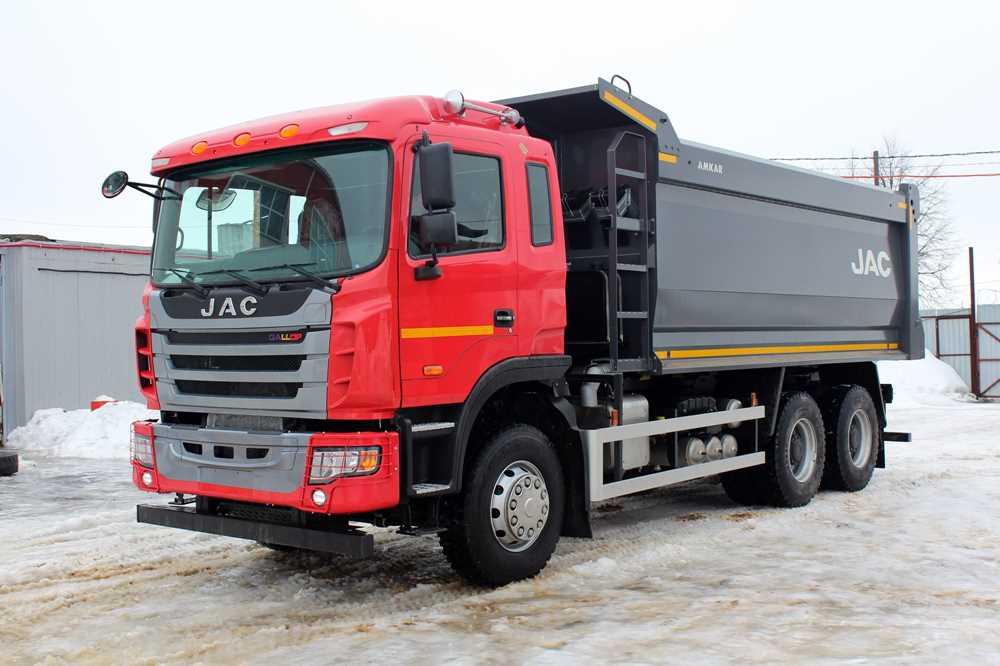 37351 В России стартовали продажи самосвала JAC N350 казахстанской сборки